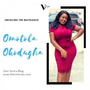 Omotola Okodugha on unveiling the matriarch