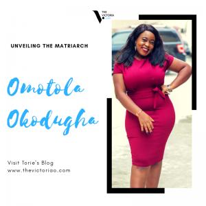 Omotola Okodugha on unveiling the matriarch