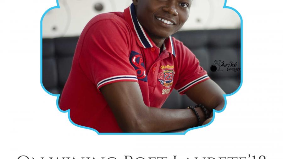 On winning Poet Laureate Adesola Oladoja
